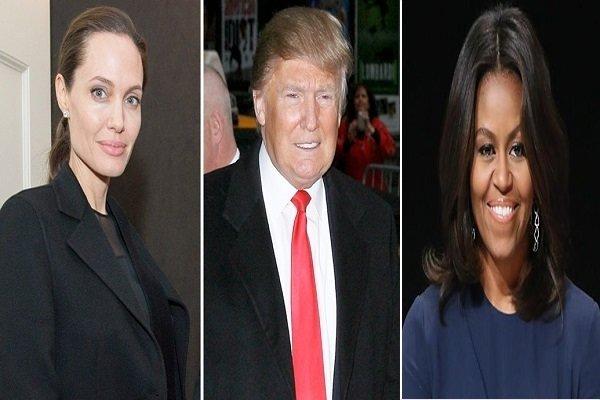 ترامپ با دو زن معروف آمریکا رقابت می کند