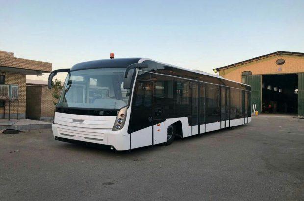 بازسازی اتوبوس های فرودگاهی در شهرک صنعتی شکوهیه
