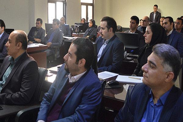 بانک ایران زمین دوره بازاریابی برگزار کرد