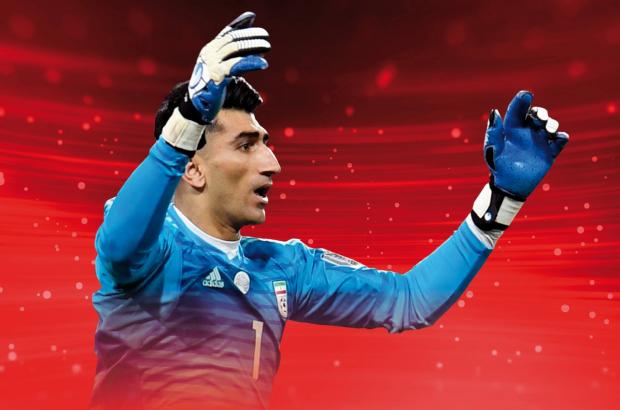 بیرانوند برترین بازیکن مرحله یک هشتم جام ملتهای آسیا ۲۰۱۹-امارات شد