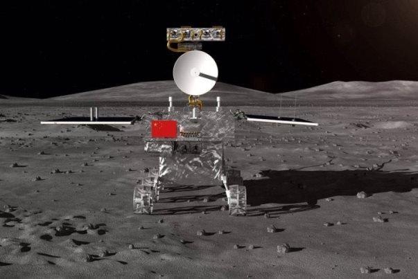 چین در ماه کشت و کار می کند