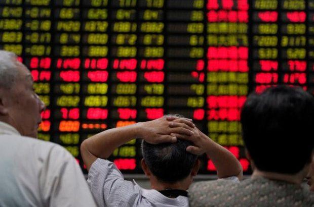 سقوظ سهام آسیایی
