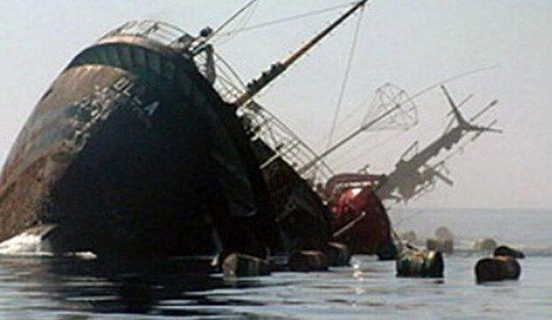 غرق شدن کشتی سانحه دیده ایران در دریای خزر