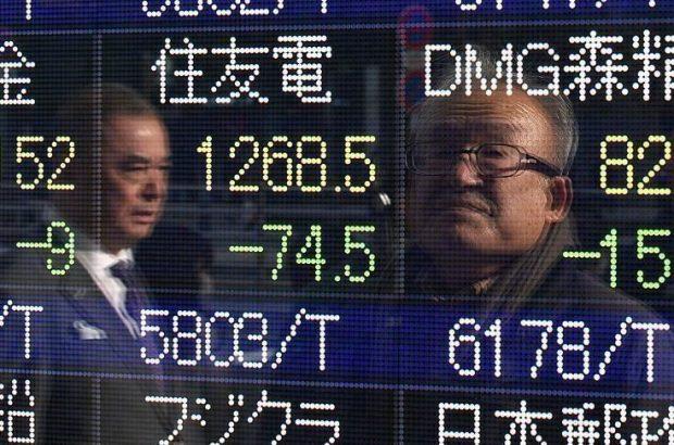افت سهام آسیایی