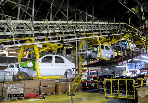 کاهش تولید خودرو در بهار ۹۸
