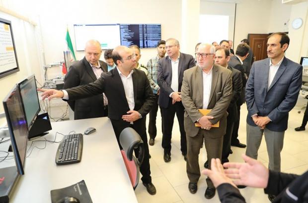 سنجش تاب آوری شبکه ملی اطلاعات و افتتاح آزمایشگاه امنیت و مرکز مانیتورینگ بانک ملی ایران