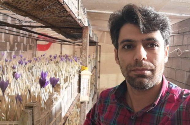 تنها کارگاه کشت زعفران به روش ایرپونیک در استان خوزستان