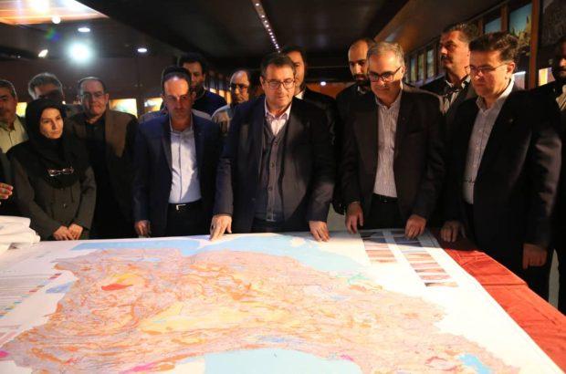 رونمایی از نقشه یک میلیونیوم کواترنری برای نخستین بار در کشور