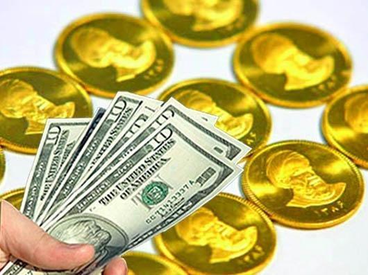 کاهش طلا و ثابت ماندن ارز