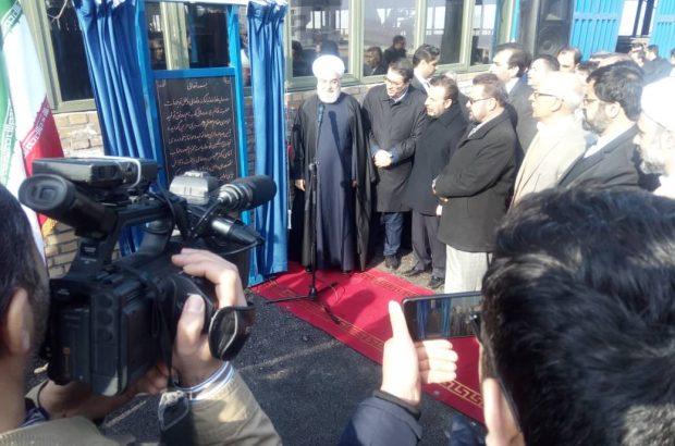 افتتاح کارخانه کامیون سازی حدید مبتکران در مشگین شهر