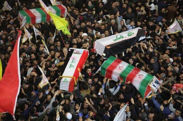 درخواست تشییع کنندگان تهرانی برای شکسته شدن سکوت اروپا