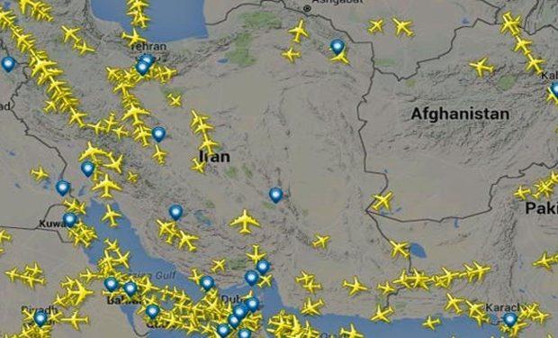 بستههای تشویقی برای پروازهای عبوری از فضای ایران