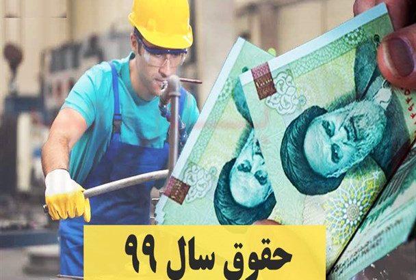 ابلاغ مصوبه افزایش ۵ درصدی حداقل مزد