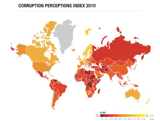 ارزیابی ریسک فساد در نهادهای حاکمیتی