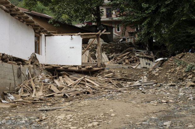 ۱۰ واحد مسکونی بر اثر سیل در استان گیلان تخریب شد