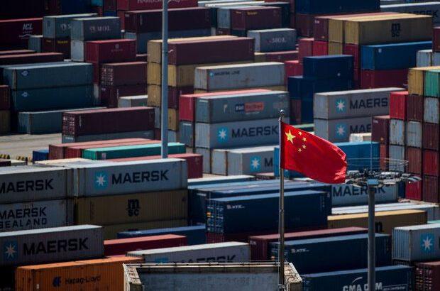 صادرات چین پس از بازگشایی اقتصاد رشد کرد