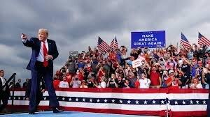 احتمال پیروزی ترامپ در کمتر از یک روز دیگر
