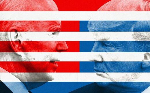 آخرین نظرسنجیها؛ بایدن ۵۲% ترامپ ۴۳%