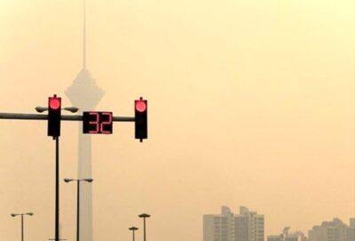 آلودگی هوا آژیر قرمز تهران را به صدا در آورد