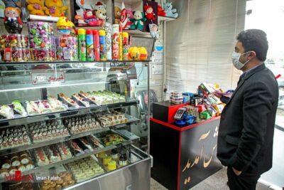 کاهش رغبت مردم به خرید شیرینی