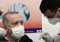 واکسن چینی کرونا به اردوغان تزریق شد