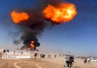 انفجار و آتشسوزی در گمرک مرزی افغانستان با ایران