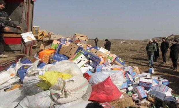 ۹۳ تن کالای قاچاق و متروکه در دو استان منهدم شد
